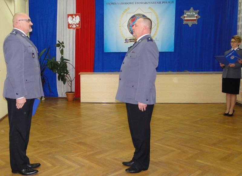 Zmiana na stanowisku I Zastępcy Komendanta Powiatowego Policji w Łasku