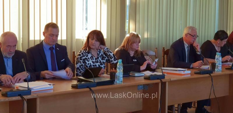 II sesja Rady Powiatu Łaskiego