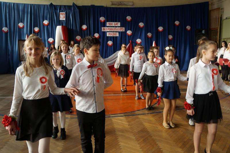 Jubileusz Szkoły i Święto Niepodległości w ZSO w Kolumnie