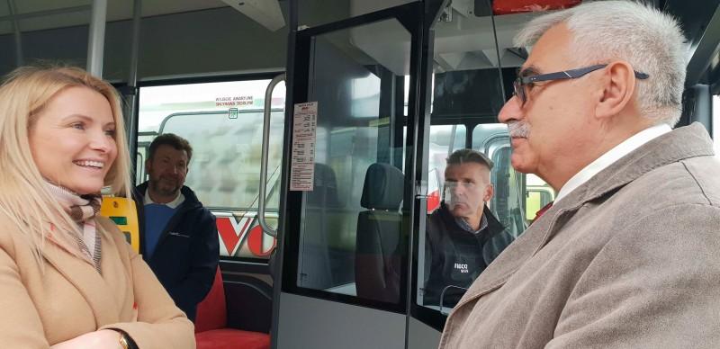 Miesiąc z nowymi autobusami w ZKM Łask