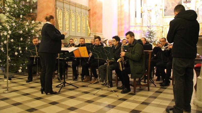Koncert Orkiestry Dętej ŁDK w Łaskiej Kolegiacie