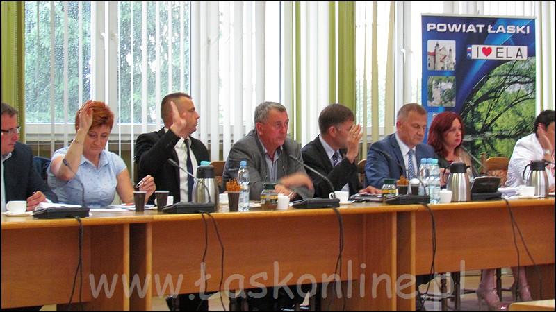 XXVII sesja Rady Powiatu �askiego