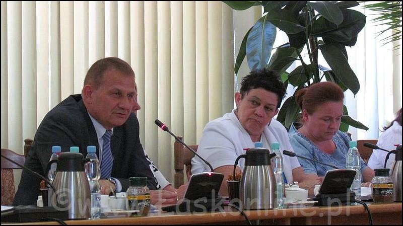XXV sesja Rady Powiatu �askiego