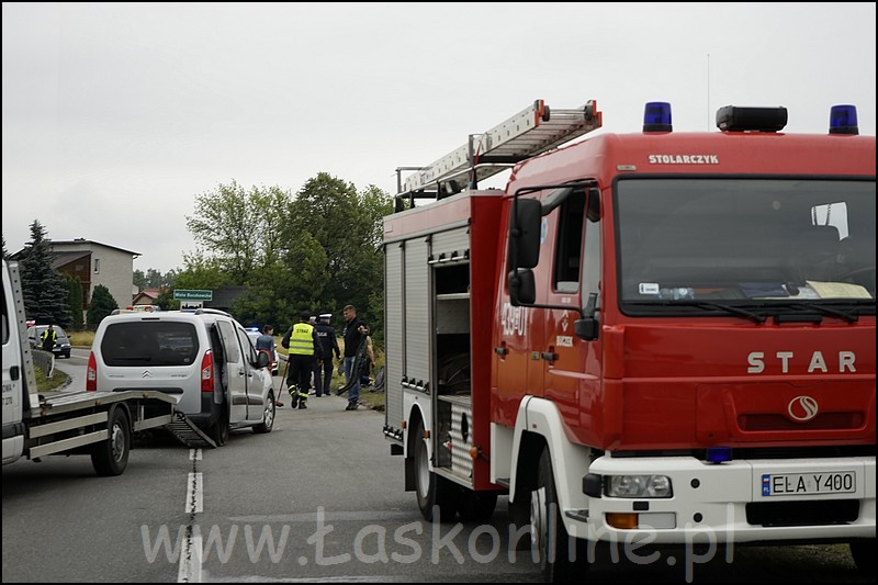 Wypadek Wola Buczkowska