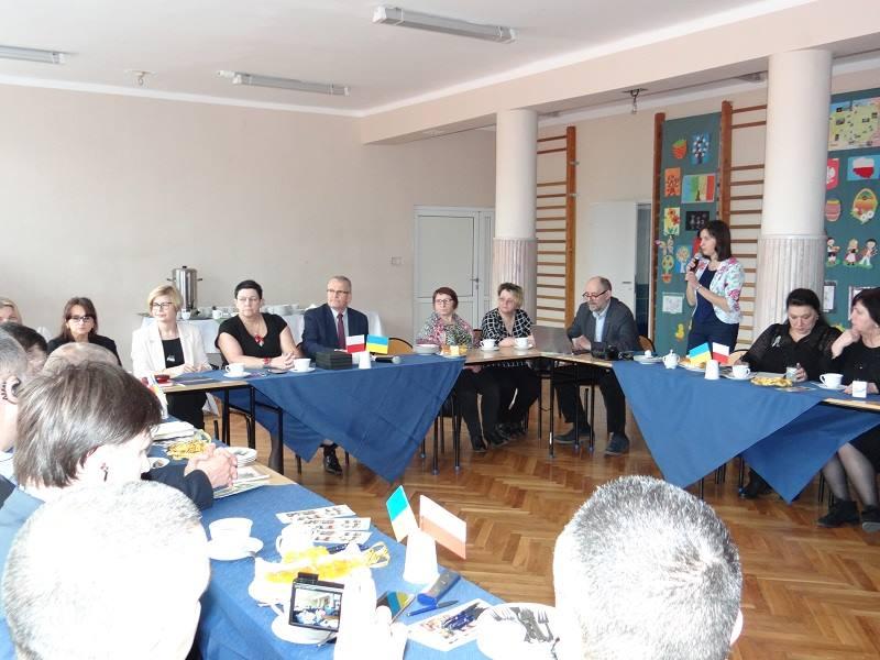 Goście z Ukrainy w SOSW