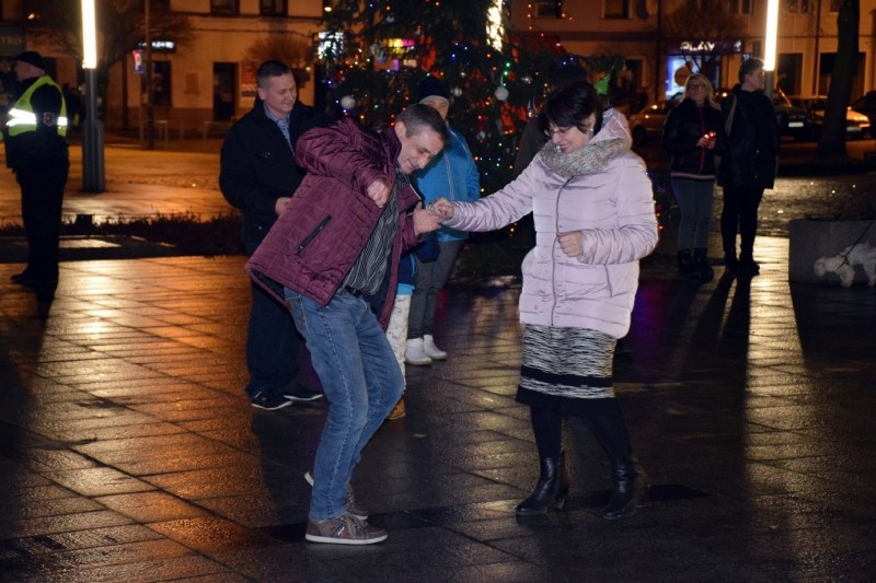 Powitanie Nowego Roku w Łasku