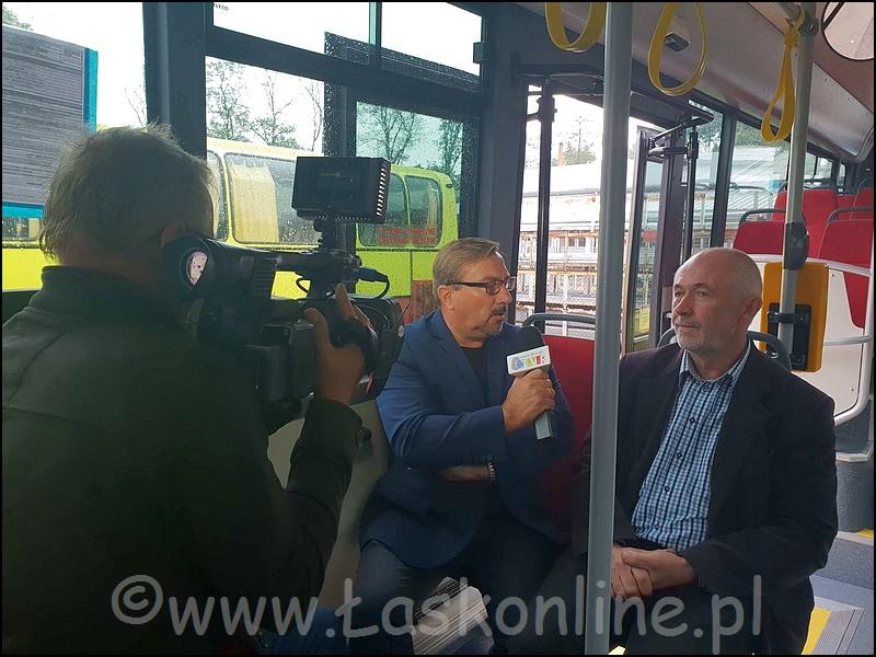 Nowe autobusy w Łasku